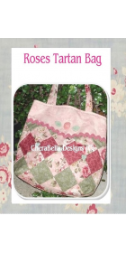 rose tartan bag