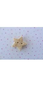 christmas star- gold