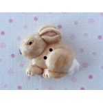 Beige Small Rabbit