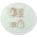 baby girl sampler button pack