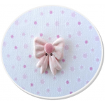 dotted bow pink