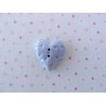 impression heart blue