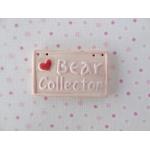 bear sign pink