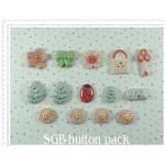 Secret Girls Business Button Pack